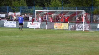 Second half and a second goal - akin to a hole in one - to Ilkeston. Ouch