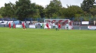First half and the Wood are on the attack. Both keepers played superbly in this finely-balanced contest