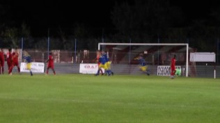 Ouch. Second goal to the Uttoxeter players.
