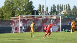 Second half and the full frontal onslaught on the Swifts goal continues….No, it was not a goal. Don't ask.