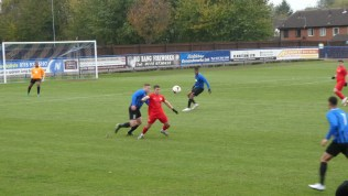 First half and the Wood are working their way to Long Eaton goal. Superb determined play in action.