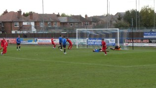 Second half and the second goal to the Wood from an inch-perfect shot. The Wood are flying high!