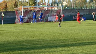 Second half, second goal to the Wood, to the delight of players and home spectators.