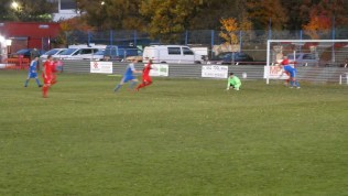 Second half and South Normanton are inching their way to a goal. Will they succeed?