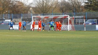 """First half and Long Eaton are finding a way through the famous Red Line with worrying frequency as the Wood """"gird their loins"""" to defend and repel the ominous threat."""