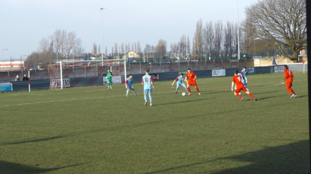 An early foray in to the Westfield defence by the Wood. This was to be a cracker of a match, today