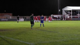 as the home side celebrate the visitors contemplate their reposte and throw their shoulders back as they walk to restart the match.Full credit to the Swifts who worked so hard.