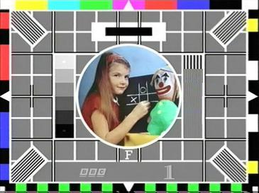 Test card F. What a memory.