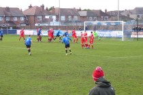 Later in the first half and Long Eaton put the visitors under increasing pressure as they strive to score the equalisiing goal before half time