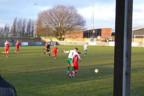later in the second half and some lee elegant play by the visitors, came to the fore