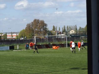 Heanor score the first of their goals. How would the Wood respond?