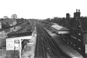 Brownhills Station, insalubrious but functional