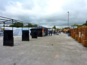 I was concerned to note that some stalls were vacant.