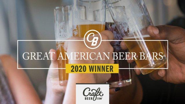 great american beer bar 2020 winner award