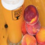 peaches and cream hefe beer
