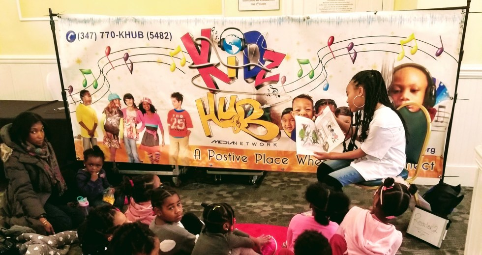 Victorianne Storytime at a Brown Kids Read Event
