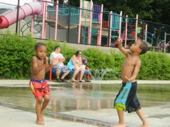 We love the Troy Hill Spray Park!