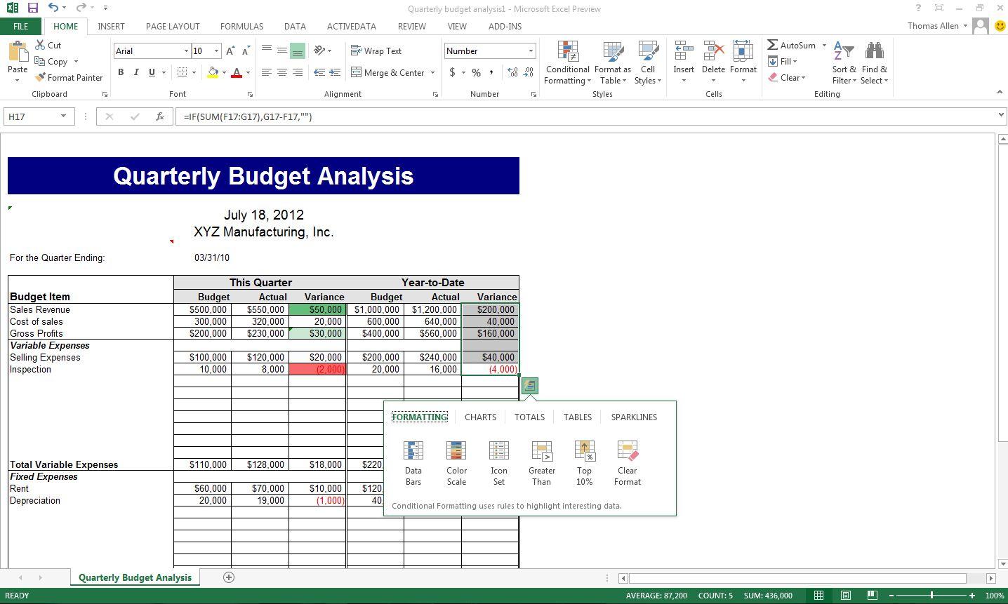 Open Microsoft Excel Worksheet