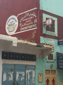 Downtown Bhalil—the dentist and the disco were basically the whole downtown