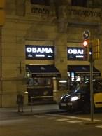Obama restaurant. Couldn't resist
