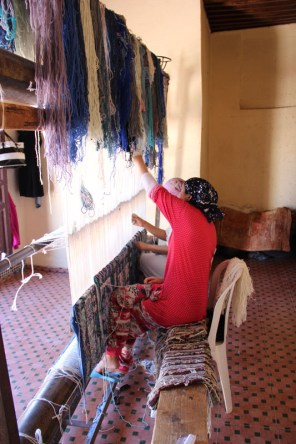 Two women take one year to complete a rug by hand