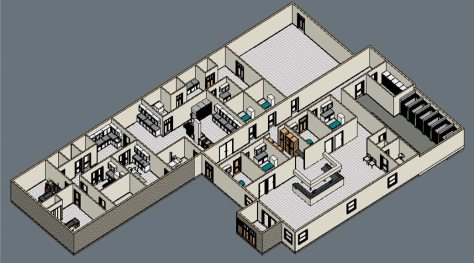 Brownsburg Animal Clinic floorplan