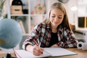 Girl tutoring