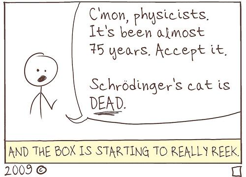 Schrodinger's Cat, RIP
