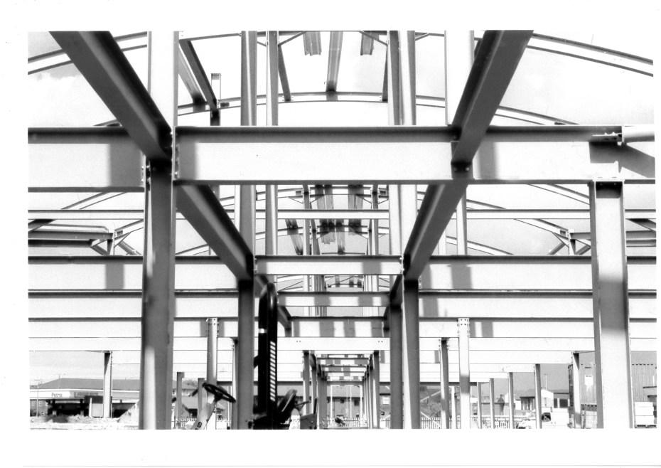 Watermark Steel Frame b&w