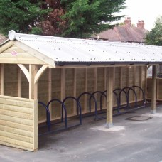 School Bike Shed