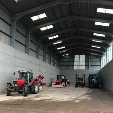 SILAGE BUILDING INTERNAL