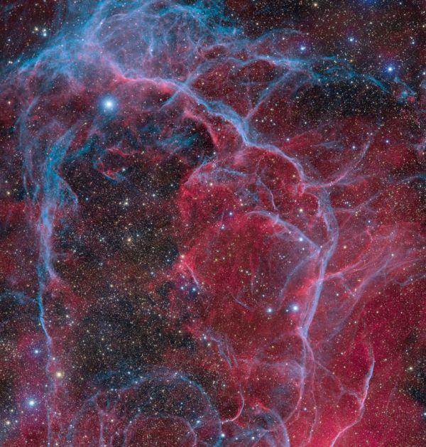 The Opulent Vela Supernova Remnant   BrownSpaceman