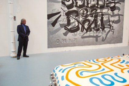 The Geffen Contemporary at MOCA, In The Streets exhibition of Street Art Los Angeles, California, USA