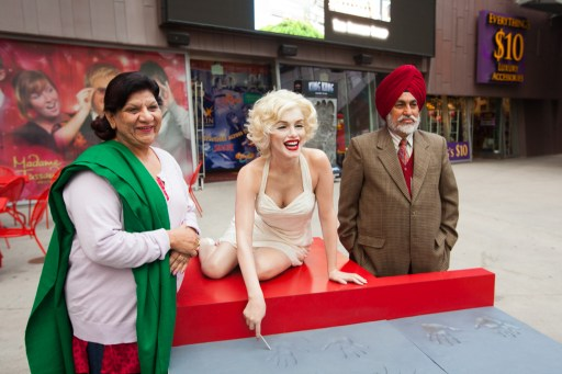 Marilyn Monroe wax figure, Hollywood