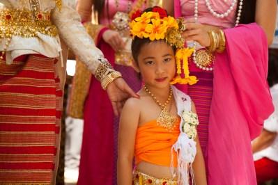 23rd Annual Thai Cultural Day, Dancer in traditional Thai dress. 9/20/2015, Barnsdall Park 4800 Hollywood Boulevard Los Angeles, CA 90046