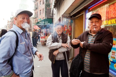 Vegetable market, Chinatown, Manhattan, New York City, New York