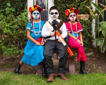 Day of the Dead - Dia de los Muertos - at Hollywood Forever Cemetery, 10/29/2016. Hollywood, California, USA
