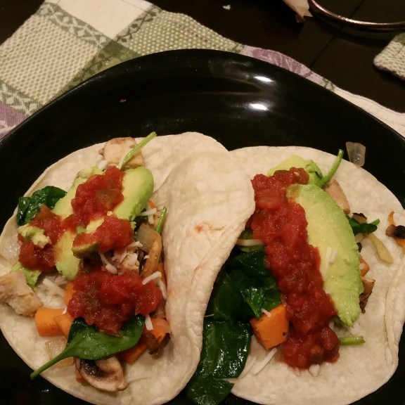 Sweet potato street tacos
