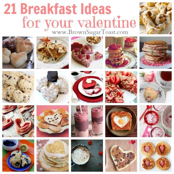 21 Breakfast Ideas For Your Valentine Brown Sugar Toast