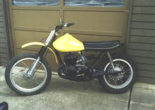 1974 Montesa VR250