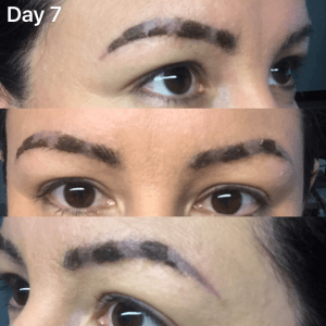 what to do if your microblading didn t take