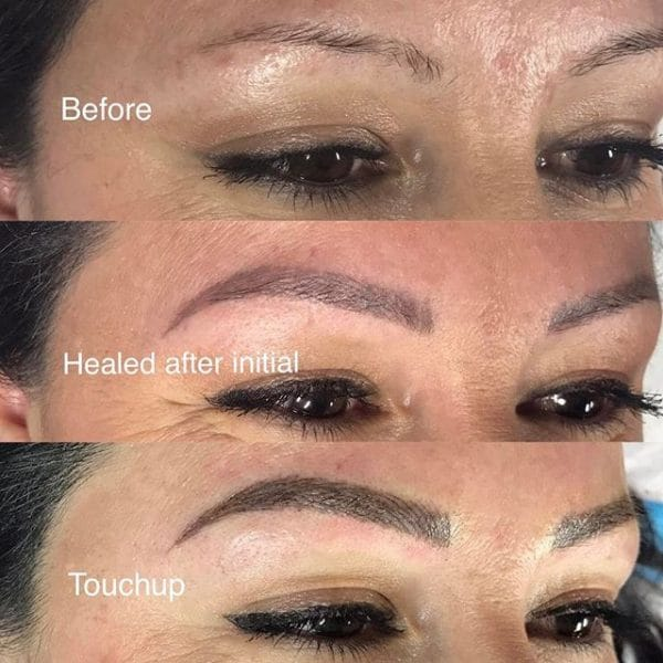 Healing after microblading for How long does it take for a tattoo to fade