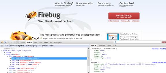 Firebug - Firefox Extension