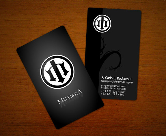 Muymra Business Cards