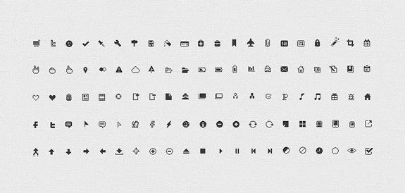 Pixicus Icon Set: 106 Pixel Perfect Icons