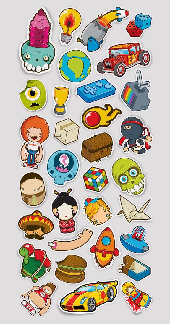 Cool Sticker Design