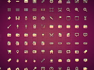Micro Free Icon Set