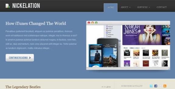Free Corporate WordPress Themes