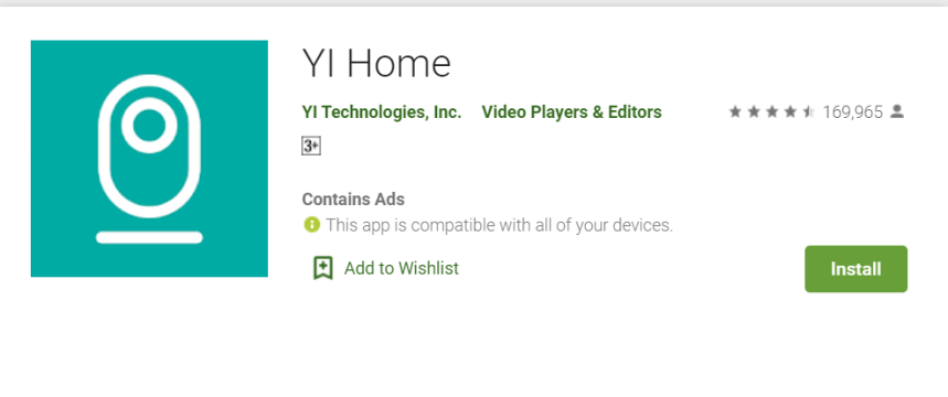 YI Home for PC
