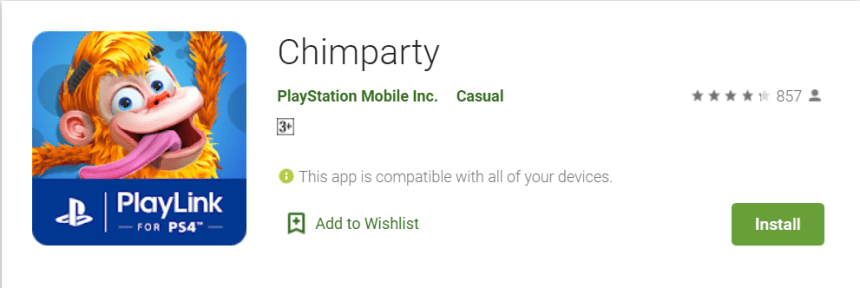 Chimparty For PC